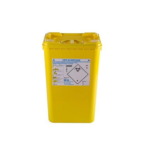 Fût Biogrip 60 litres pour déchets de soins