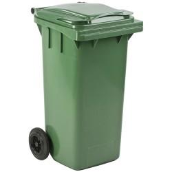 Conteneur à déchets 140 litres vert