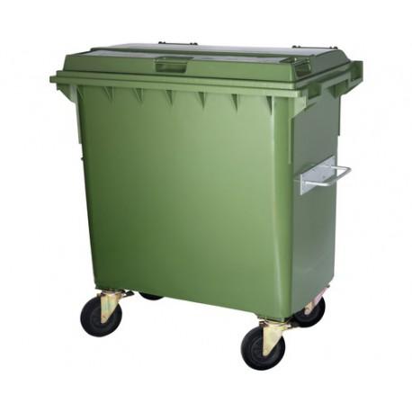 Conteneur à déchets 770 litres vert