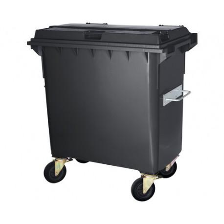 Conteneur à déchets 1000 litres gris