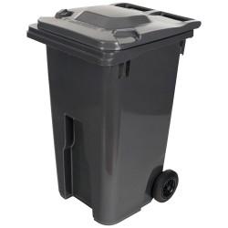 Conteneur à déchets 140 litres gris