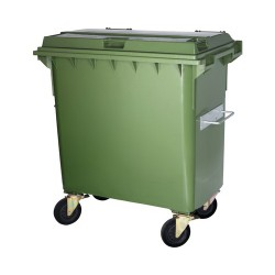 Conteneur à déchets 1000 litres vert