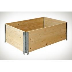 Cadre bois pliable neuf 800 x 1200 x 400 mm NIMP15