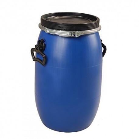"""Fût plastique ouverture totale 30 litres \""""UN\"""""""
