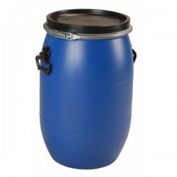 """Fût plastique ouverture totale 60 litres \""""UN\"""""""