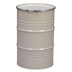 Fût métallique reconditionné ouverture totale 220 litres